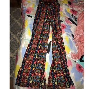 Pants - Bohemian High Waisted Pants